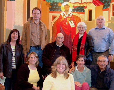 Monterey Meditation Group with Father Keating